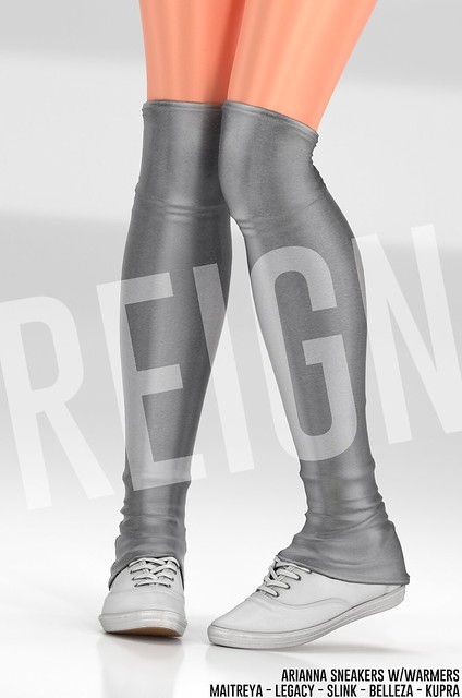 REIGN.- ARIANNA SNEAKERS w/WARMERS