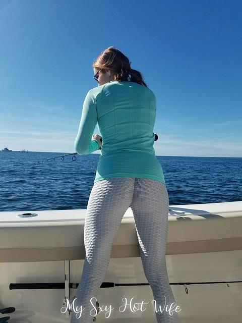 MySxyHotWife Fishing