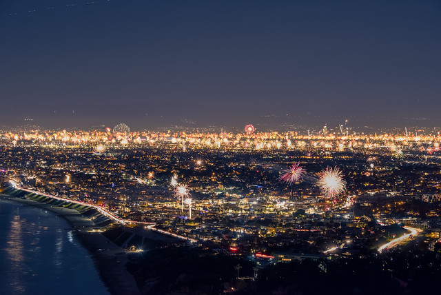 2021 New Year's Countdown in Los Angeles, CA