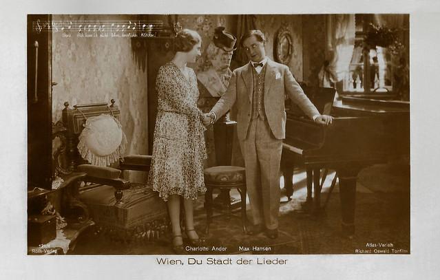 Charlotte Ander and Max Hansen in Wien, Du Stadt der Lieder (1930)
