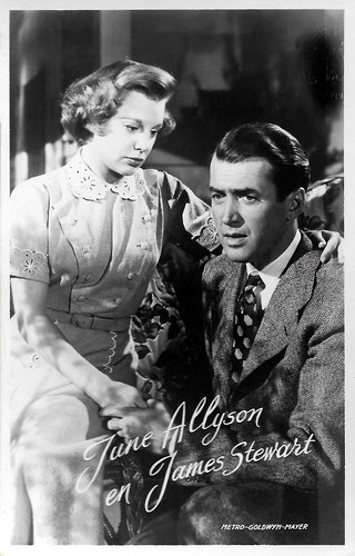 June Allyson and James Stewart in The Stratton Story (1949)