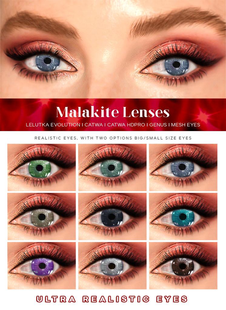 Malakite Eye Lenses