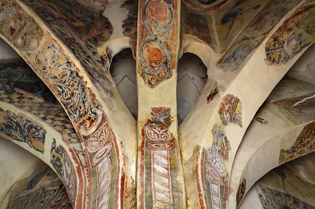 Ciri. Interior, ermita de San Baudelio, s. X - XI, estilo mozarabe