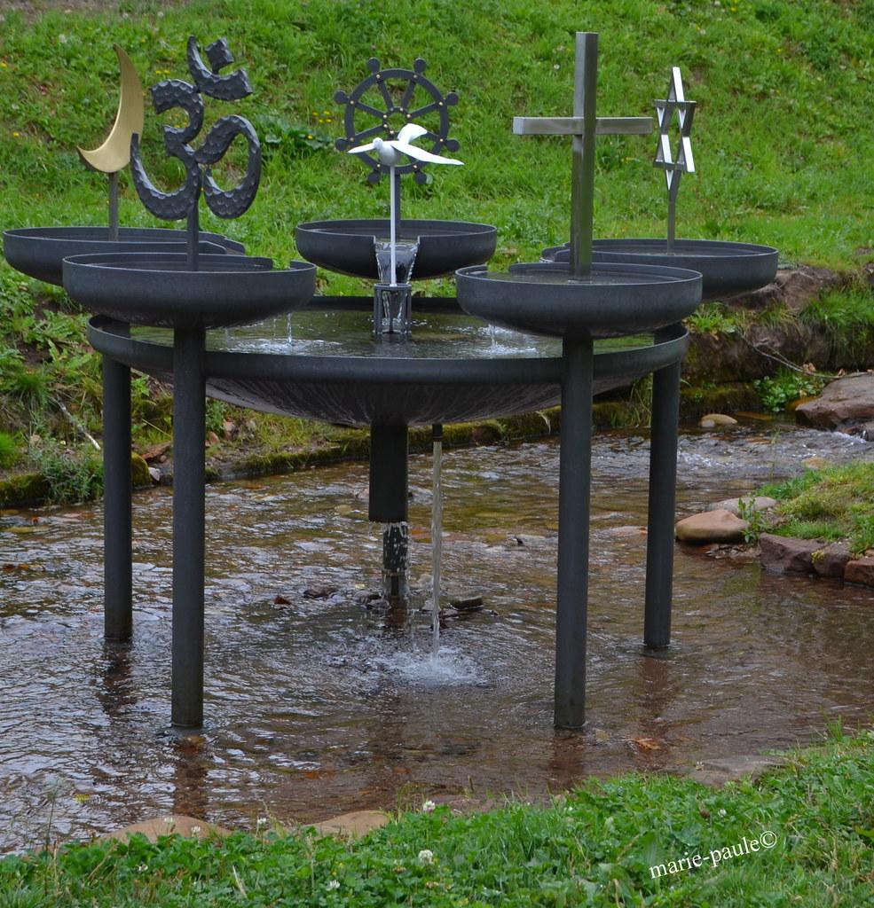 Friedensbrunnen in Klosterreichenbach