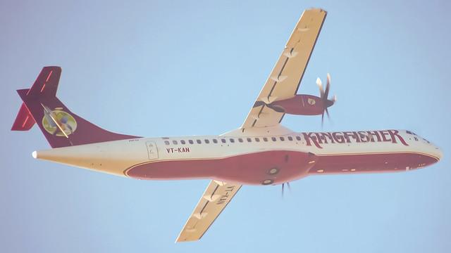 Kingfisher Airlines ATR-72 VT-KAN Bangalore - HAL (BLR/VOBG)