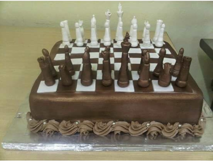 Chess Cake by Veronica Wade of NV Cakes and Catering