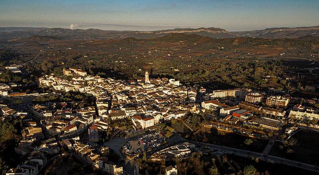 Falset (Tarragona), al amanecer.