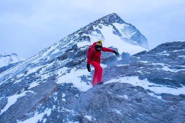Snowshoeing - Ha Ling - Jan 2021-12
