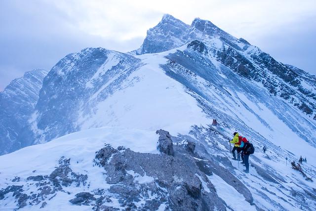 Snowshoeing - Ha Ling - Jan 2021-11