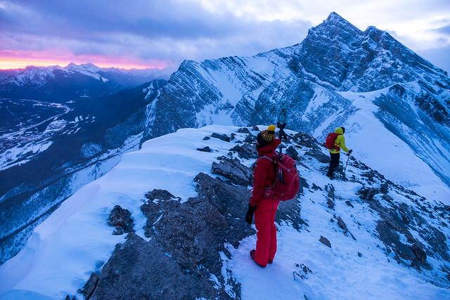 Snowshoeing - Ha Ling - Jan 2021-8