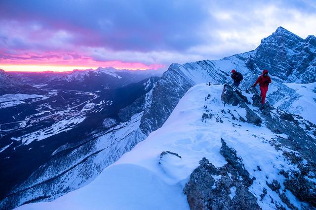 Snowshoeing - Ha Ling - Jan 2021-2