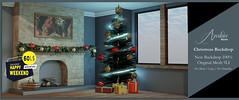[A M B I C E] - Christmas Backdrop