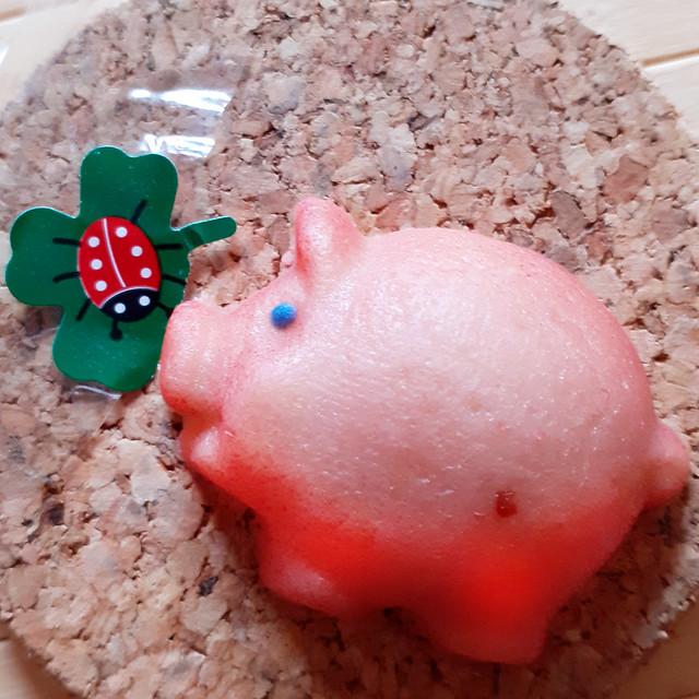 Januar 2021 ... Neujahrs-Glücksschweinchen ... Brigitte Stolle