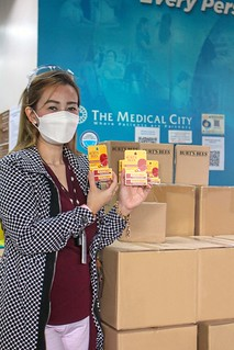 The Medical City receives Burt's Bees Lipbalms | by annalyn