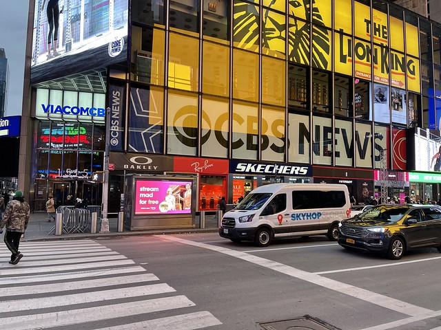 ViacomCBS MTV Networks 1515 Broadway NY NY 10036 Times Square NYC New Years Eve Ball Drop New Years Day Celebration New York City USA 2020 - 2021