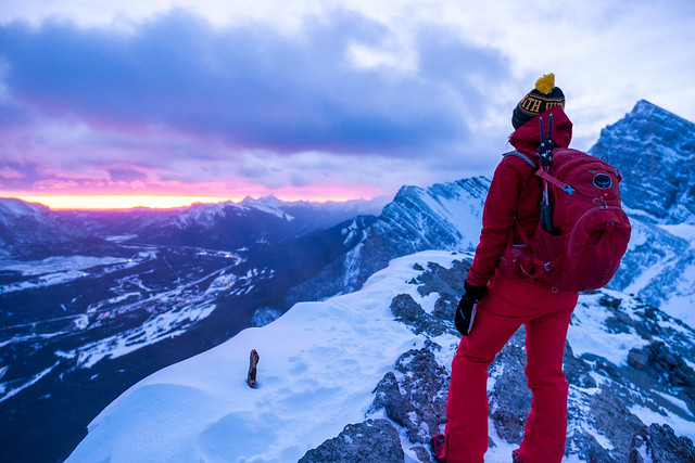 Snowshoeing - Ha Ling - Jan 2021-4