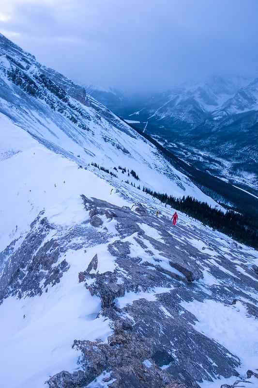 Snowshoeing - Ha Ling - Jan 2021-10