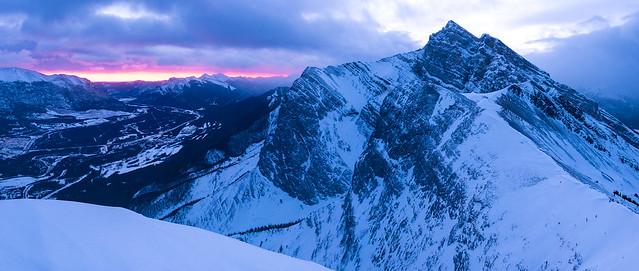 Snowshoeing - Ha Ling - Jan 2021-9