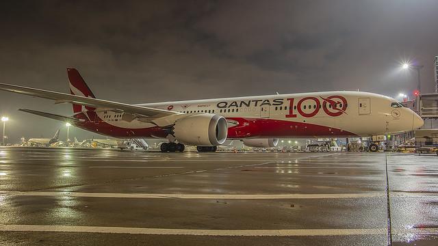 VH-ZNJ, Boeing 787-9 Qantas @ Frankfurt FRA EDDF