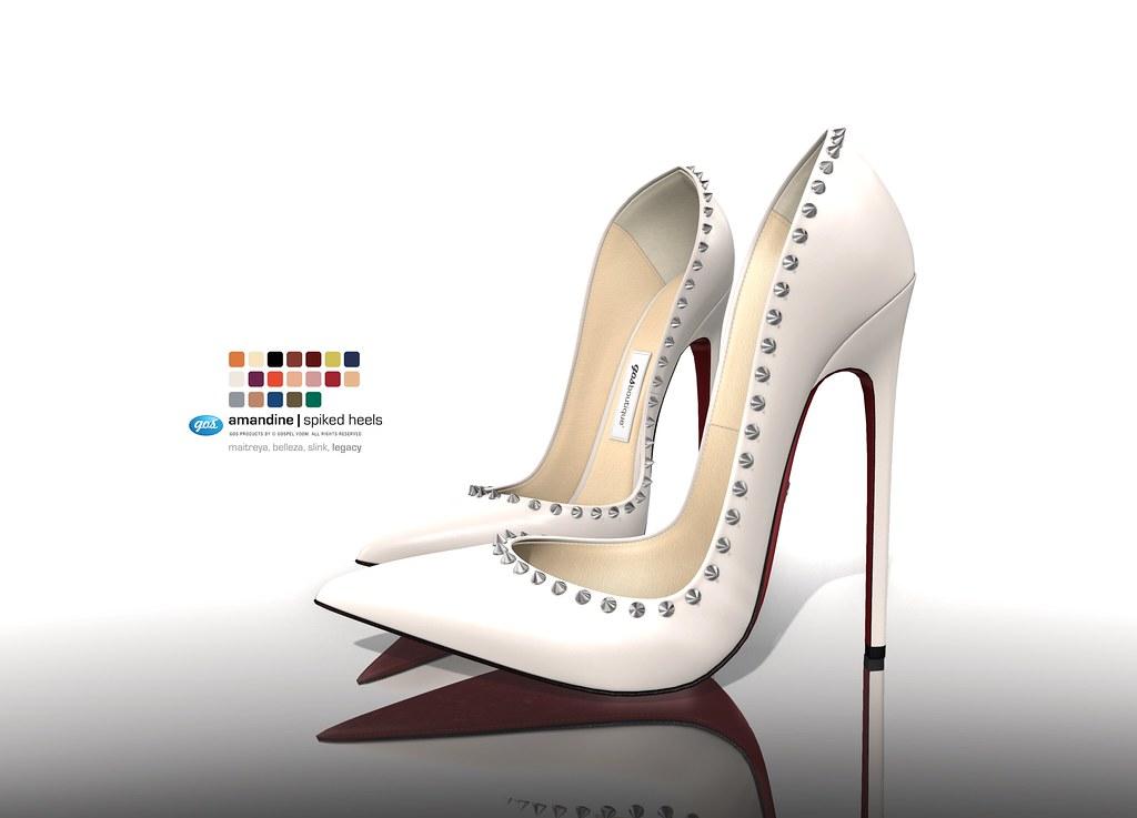 Amandine Spiked Heels