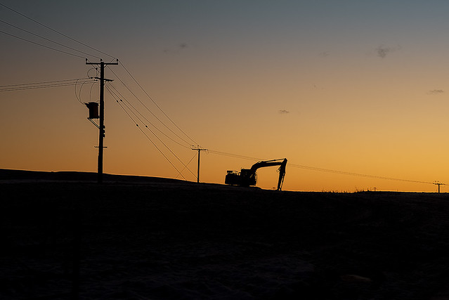 Digger Silhouette