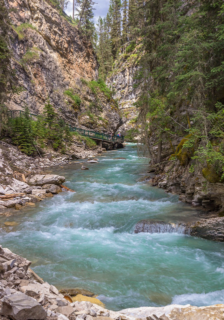 Johnston Canyon - Beauty