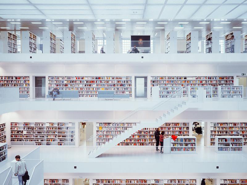 Library indoor X