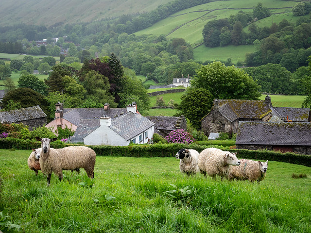 Troutbeck, Cumbria, Lake District