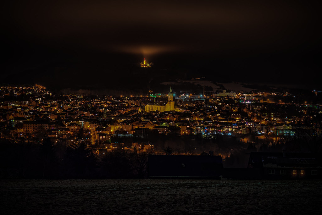 Annaberg-Buchholz today 02/01/2021 at night