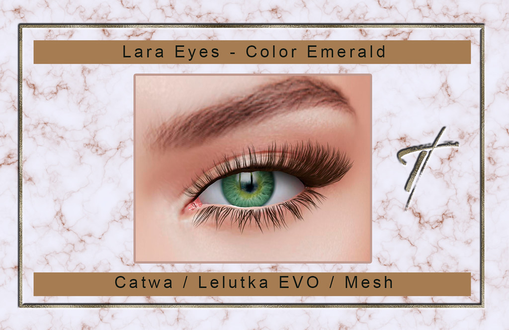 Tville – Lara Eyes *emerald*