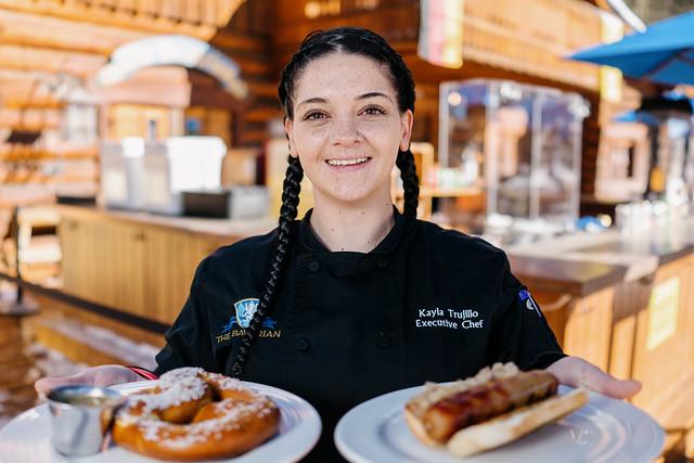 Kayla Trujillo, Executive Chef of The Bavarian