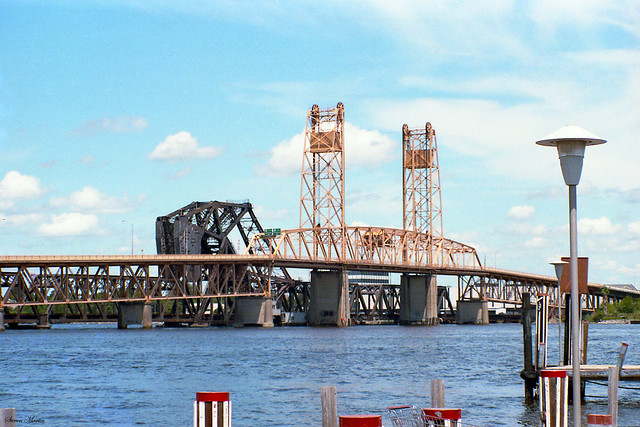 Old St. Johns River Bridge, Jacksonville, 1985
