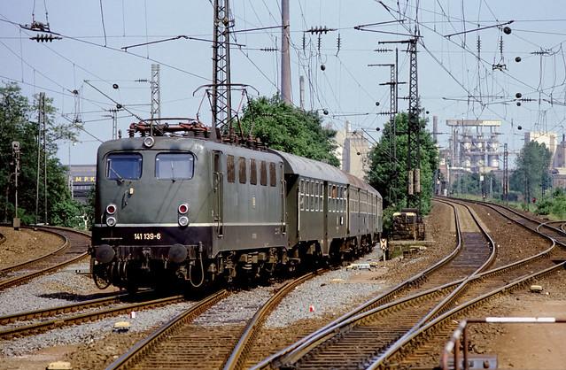 DB 141 139 Bf Köln-Deutz 14.06.1986