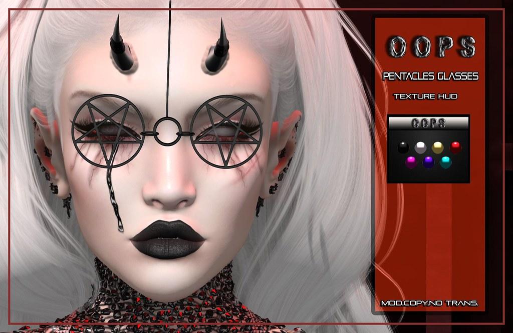 ::OOPS:: Pentacles Glasses
