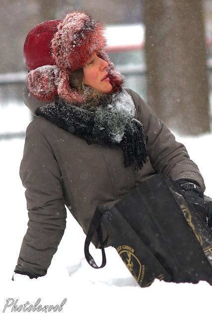 l'hiver s'installe sur Montréal