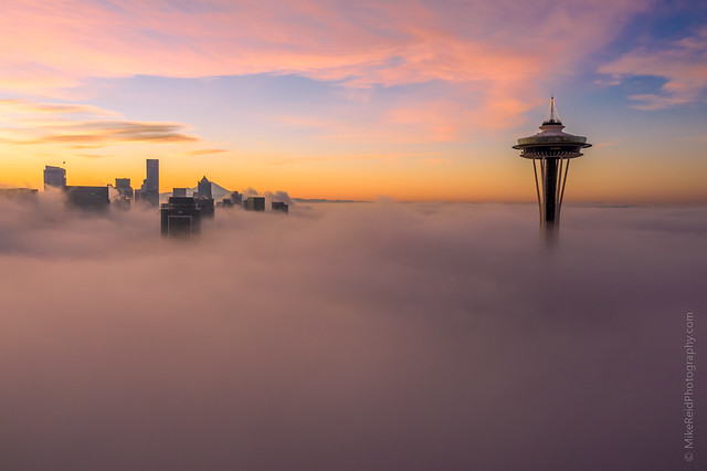 Seattle on the Clouds