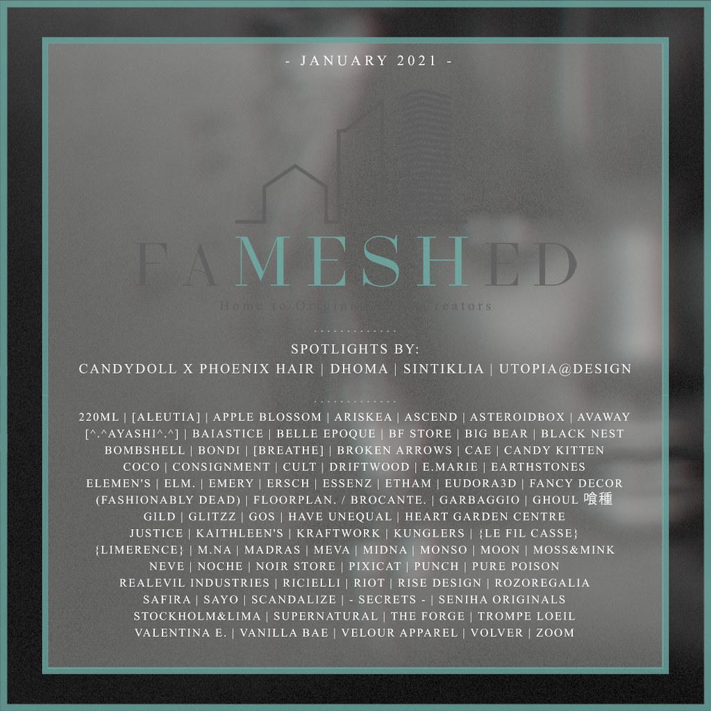 FaMESHed - January 2021