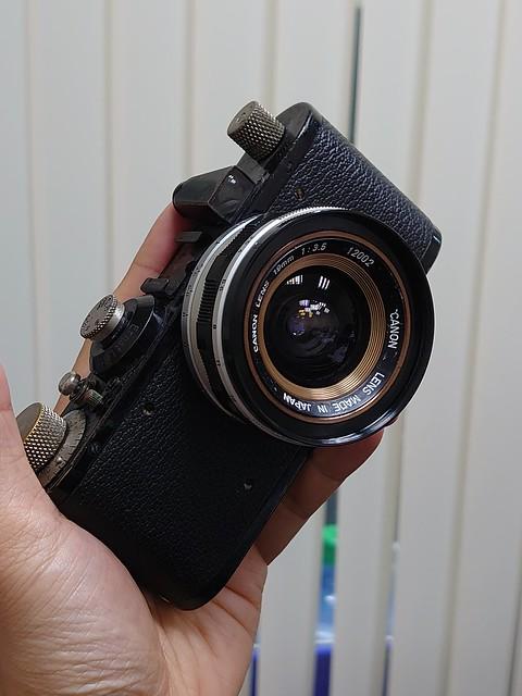 Canon 19mm f3.5 LTM CCD廣角表現