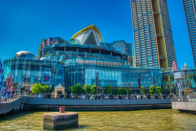 ICON SIAM shopping center by the Chao Phraya river in Bangkok, Thailand