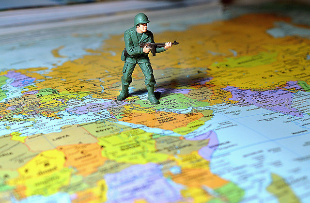 Soldier Map Middle East Army War Edit 2021