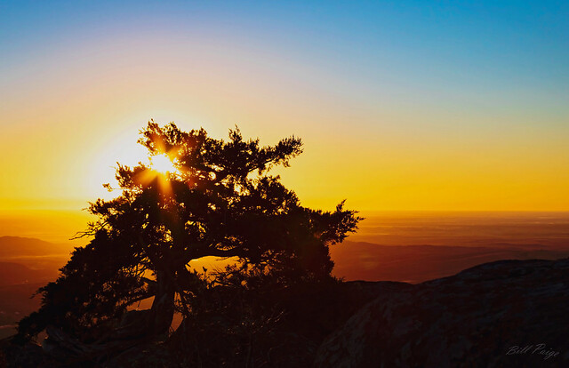 Sunrise From Mt Scott, Oklahoma