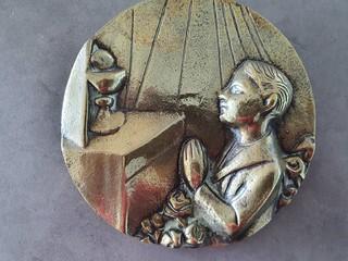 Bronsgietsel Waalbers 1957
