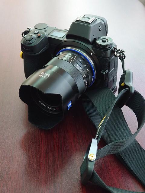 Loxia 50mm 21mm x Nikon Z6 啦啦隊寫真