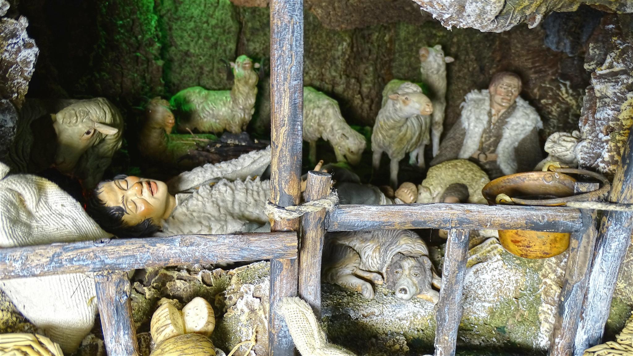 Mini presepe realizzato al convento di S. Francesco ed. 2020/21