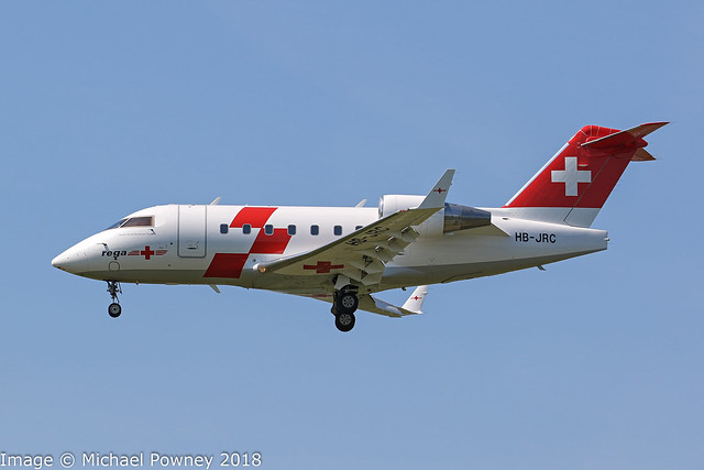 HB-JRC - 2002 build Bombardier Challenger 604, airframe since transferred to the Swiss Air Force as T-752