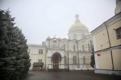 03 января 2020, Митрополит Кирилл совершил Литургию в Андреевском соборе