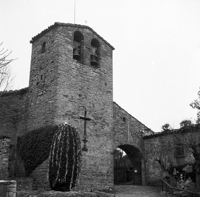 El campanar de Tavertet / Tavertet bell tower
