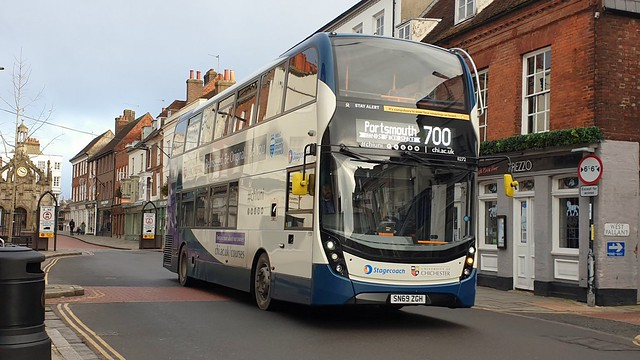 Stagecoach South 11272 (SN69 ZGH) Chichester 3/1/21