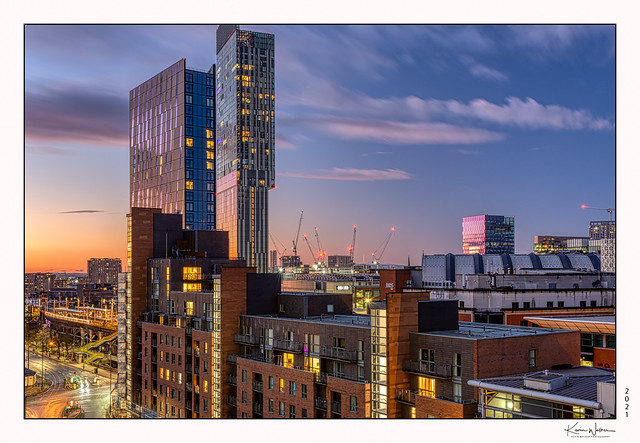 Manchester Twilight.  on Explore! ⭐ January 3, 2021