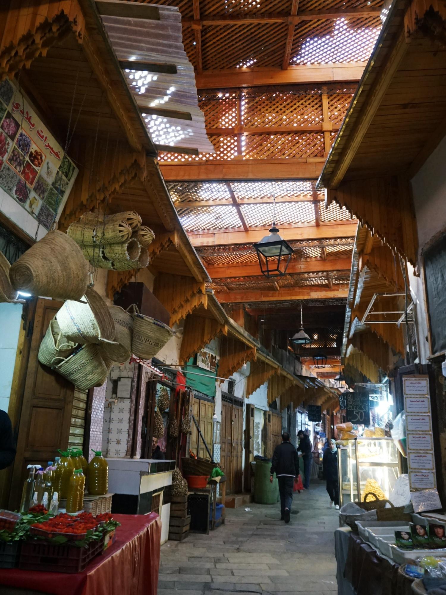 Fes Medina market